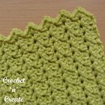Free crochet stitch tutorial-sprig stitch