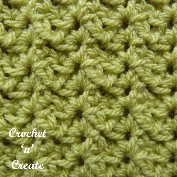 Free sprig stitch crochet tutorial