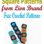 square patterns lion brand