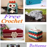 Free crochet pattern roundup tissue box covers