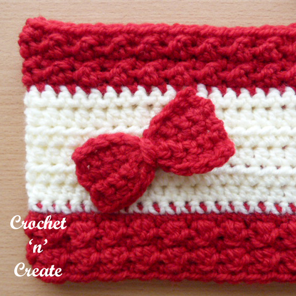 Free bumpy ear warmer uk crochet pattern