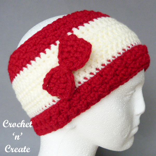 Crochet bumpy ear warmer uk pattern
