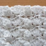 Free crochet stitch tutorial groups-popcorns