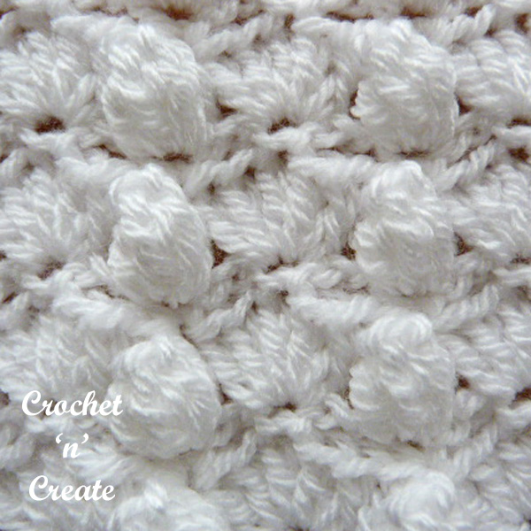 groups and popcorns free crochet tutorial
