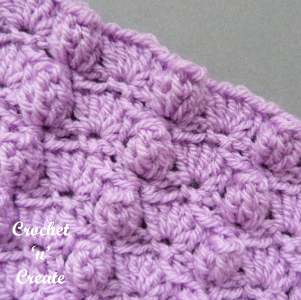 Free groups and popcorns crochet tutorial