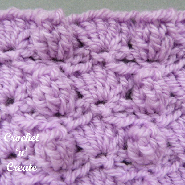 groups and popcorns crochet tutorial