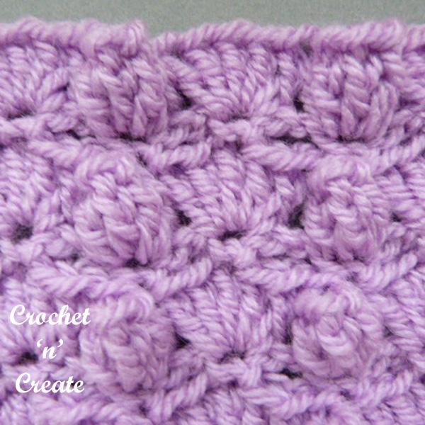 groups and popcorns crochet tutorial