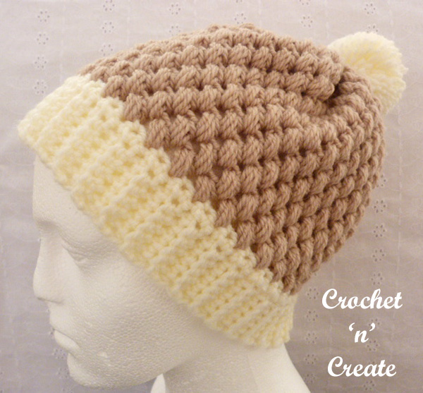 Honeycomb beanie uk free crochet pattern