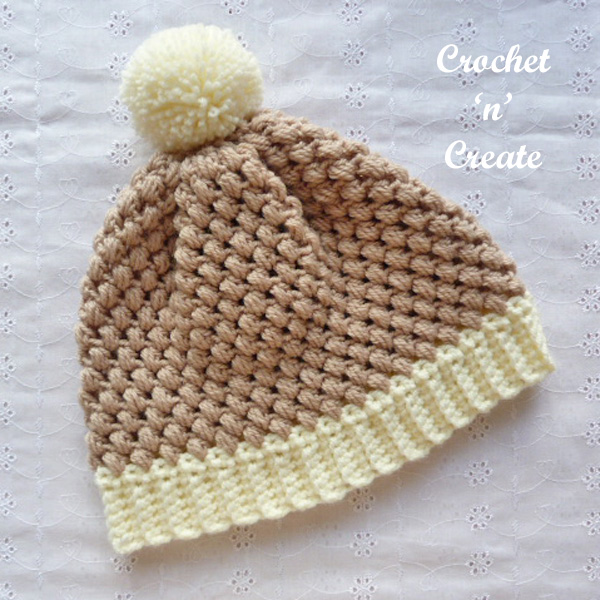 Free crochet pattern honeycomb beanie uk