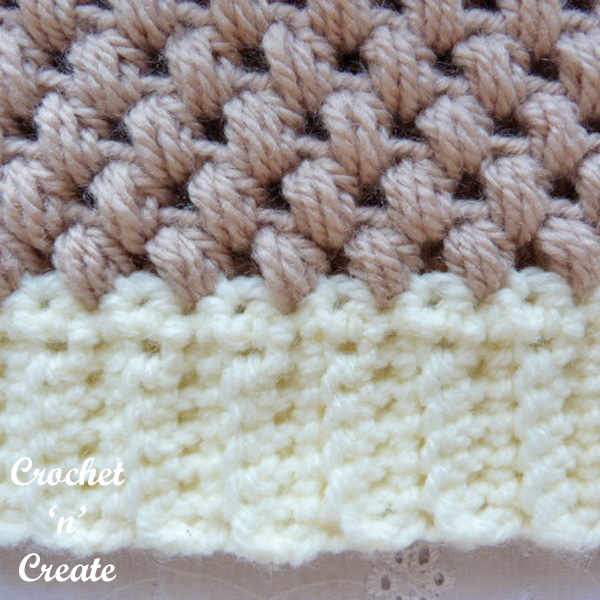 Free honeycomb beanie uk crochet pattern