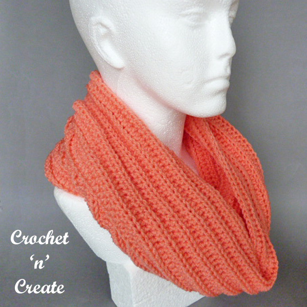 crochet ribbed hooded cowl uk pattern