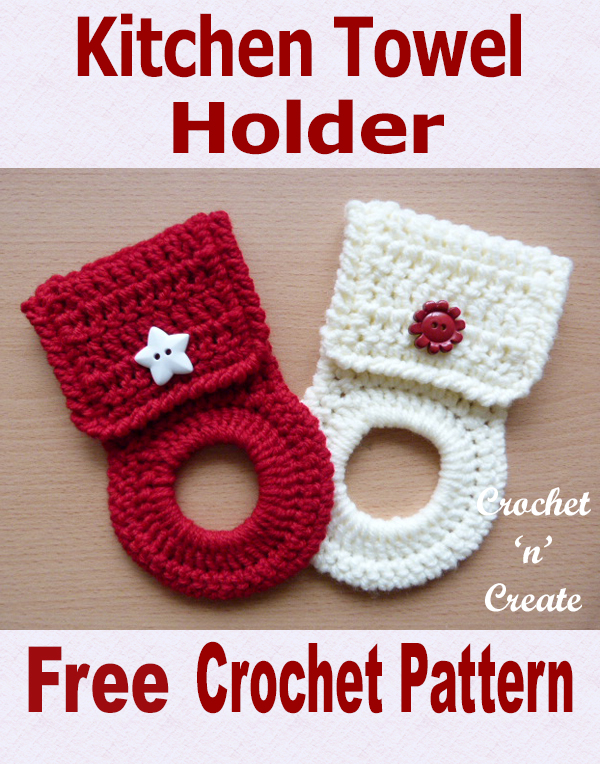 Kitchen towel holder uk free crochet pattern