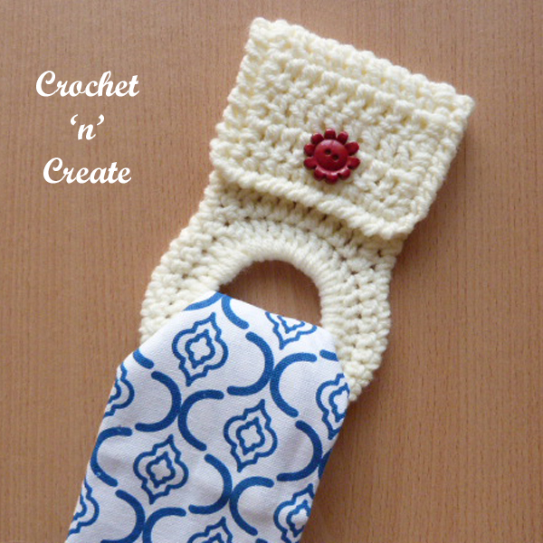 Free crochet pattern kitchen towel holder uk