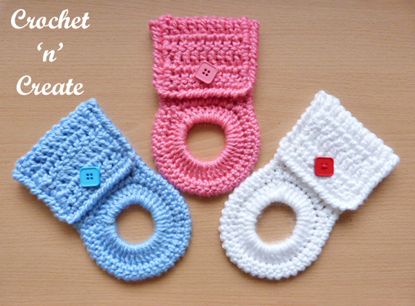 Crochet Kitchen Towel Holder Pattern Crochet N Create