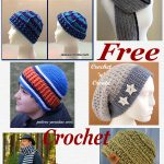 Free crochet pattern roundup mens designs