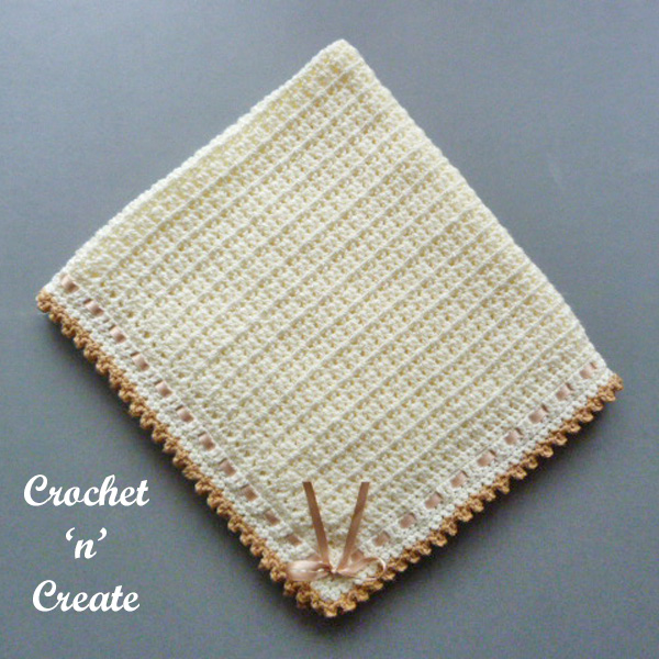 Free pram-crib cover crochet pattern