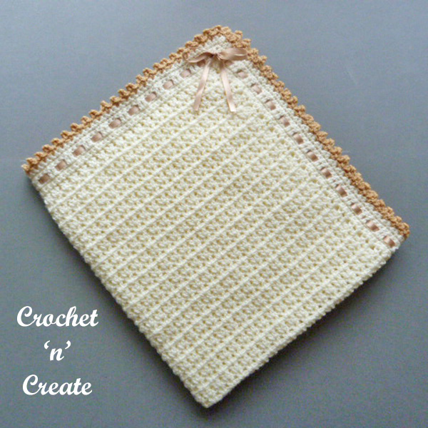 Free pram-crib cover uk crochet pattern