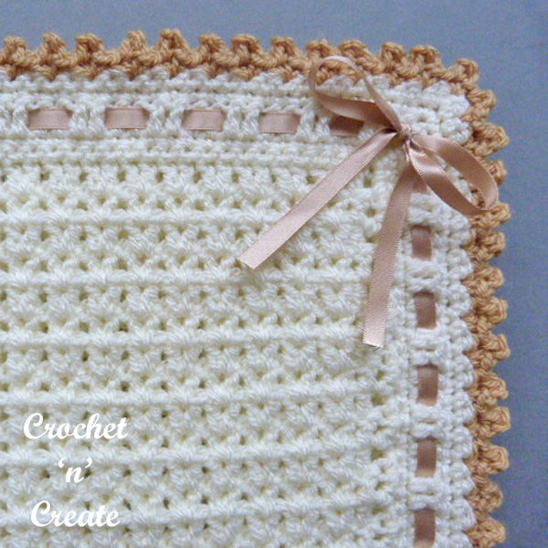 Free crochet pattern pram-crib cover uk
