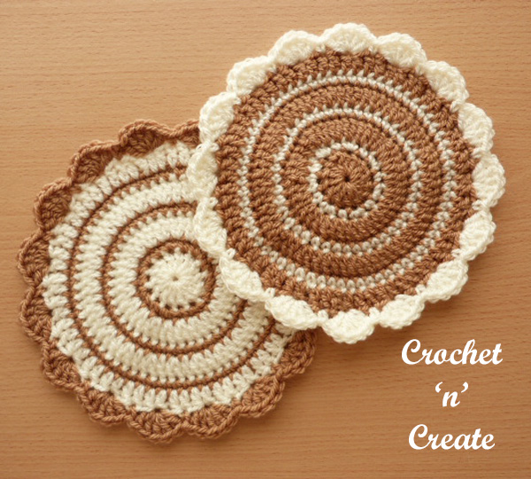 Flower pot mat uk free crochet pattern