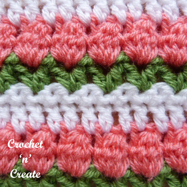 tulip stitch crochet tutorial