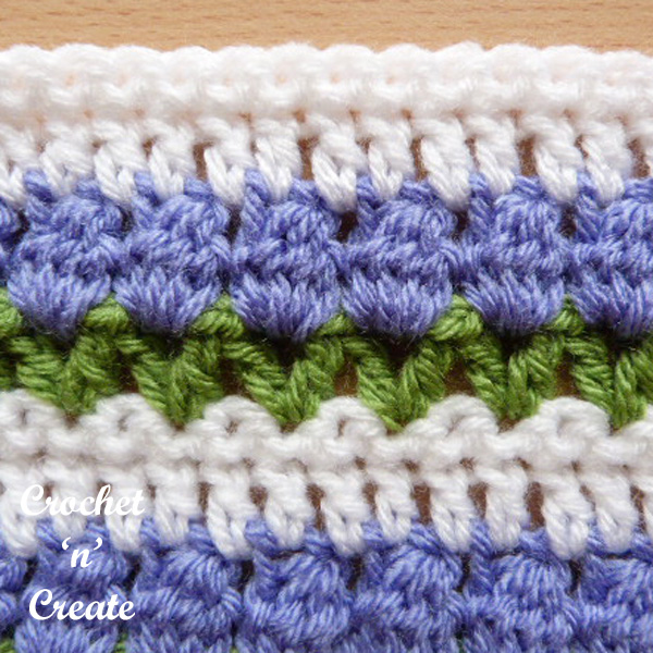 tulip stitch free crochet stitch tutorial