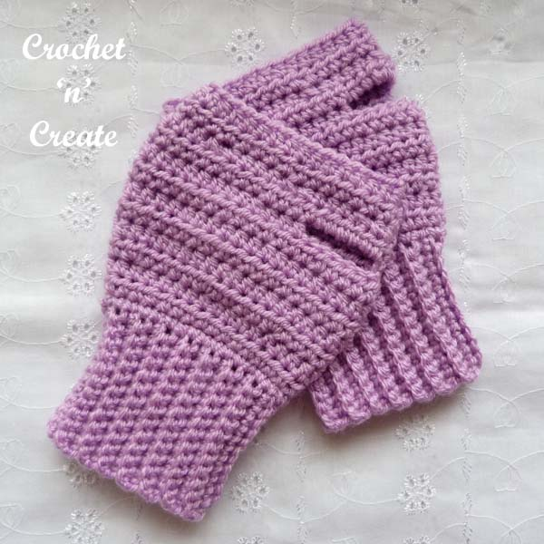 fingerless gloves uk free crochet pattern