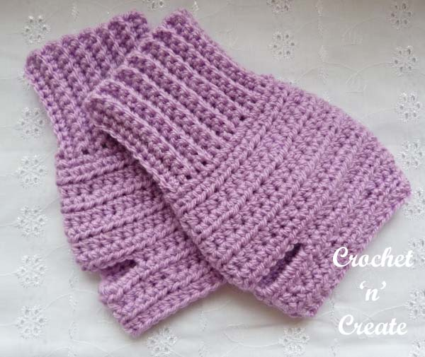 ambidextrous fingerless gloves uk pattern