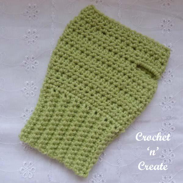 ambidextrous fingerless gloves crochet pattern