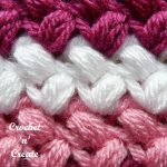 crochet tutorial bean stitch