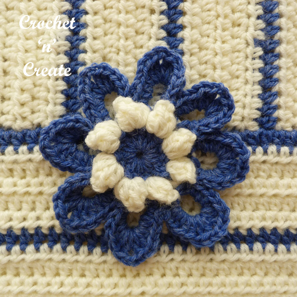 free flower pillow cover pattern