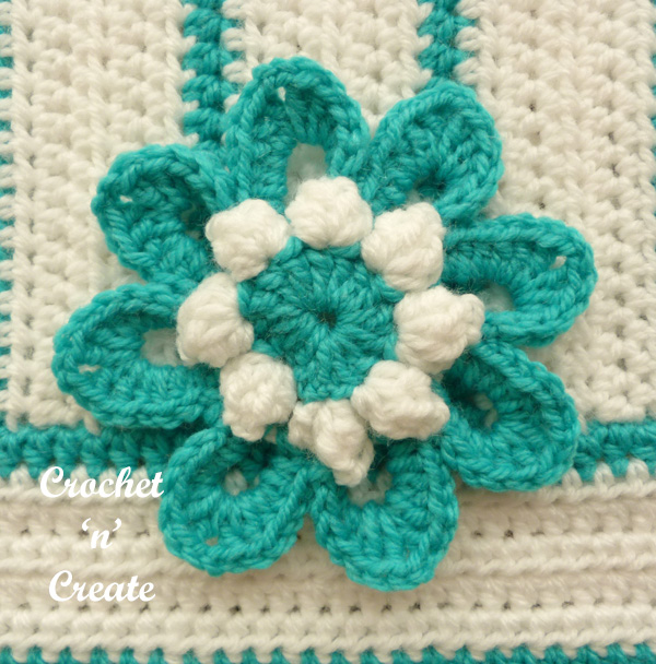 crochet flower pillow cover uk