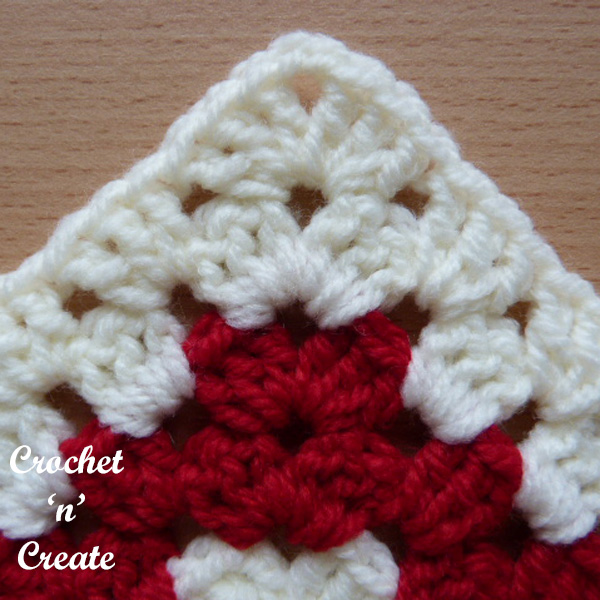 tutorial granny chevron stitch