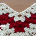 granny chevron stitch free crochet tutorial