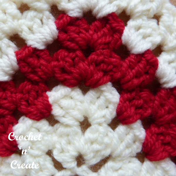 granny chevron stitch tutorial