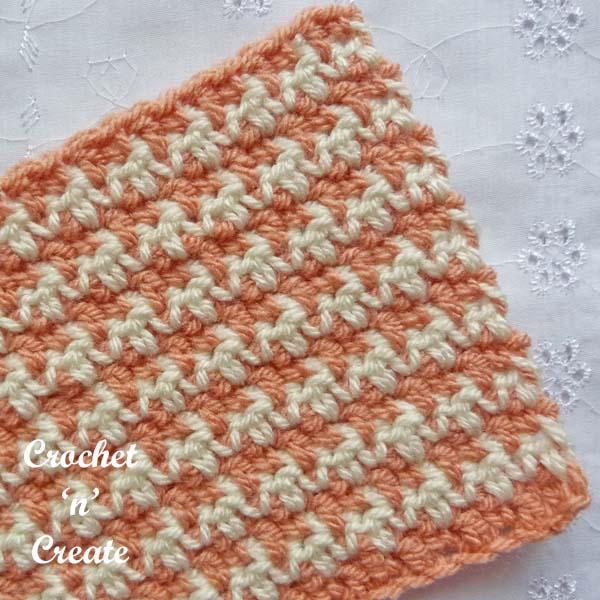 houndstooth crochet tutorial