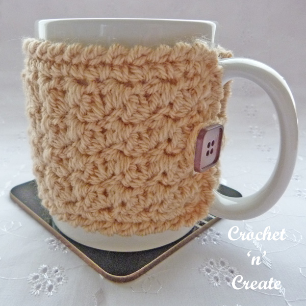 Free textured mug cozy uk