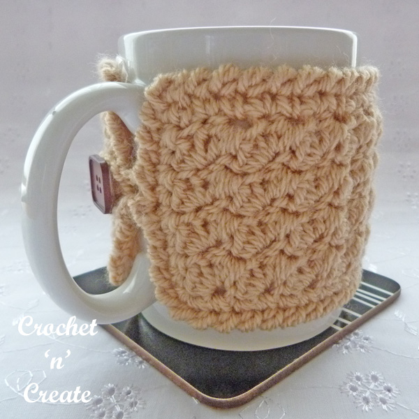simple textured mug cozy uk