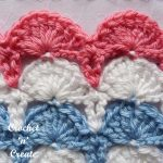 peacock fan stitch crochet tutorial