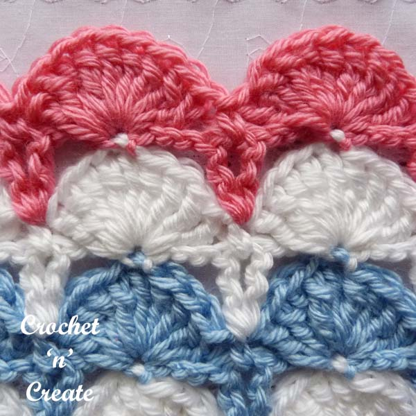 Peacock Fan Stitch Crochet Tutorial Crochet N Create