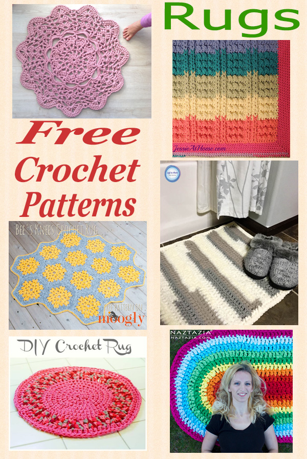 Free crochet pattern roundup rugs