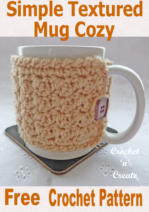 Textured mug cozy uk