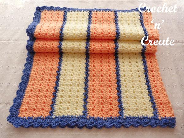 free crochet pattern Snugly Lapghan