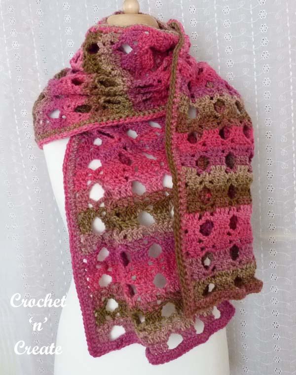 Crochet sun wrap pattern
