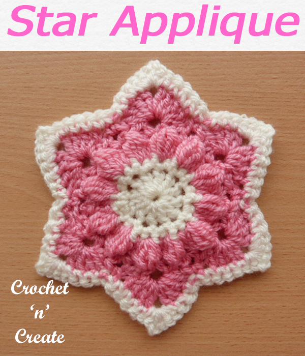 What a star, this free crochet pattern can be used as gift tags or added to your projects to brighten them. #crochetncreate