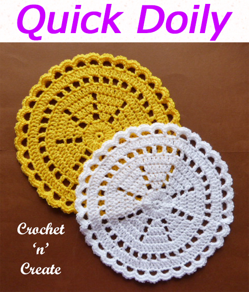 Simple and pretty doily crochet pattern, easy to crochet free crochet pattern. Decorate your walls or tables. CLICK and scroll down the page for the pattern. | #crochetdoily #crochetmandala #crochettablecentre #crochetncreate #crochet #howto #crochetpattern #freecrochetpattern #easypattern #freepattern #forbeginners #diy #crafts #crochetaddict #followforcrochet