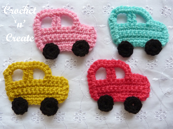 Crochet car motif uk