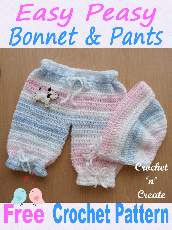 easy peasy bonnet-pants uk