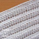 Half double crochet rib