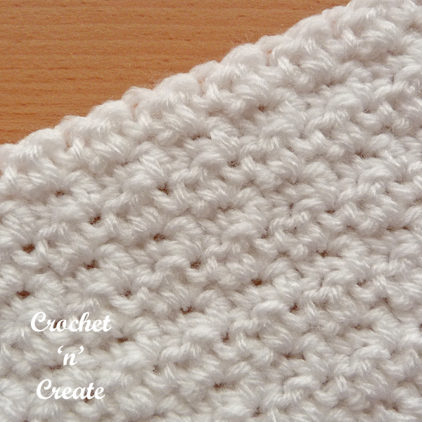 Crochet lemon peel8 stitch