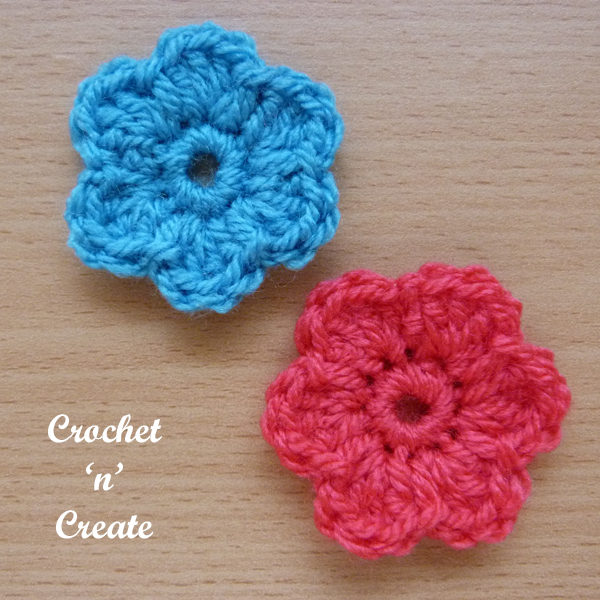 little dinky flower applique uk4